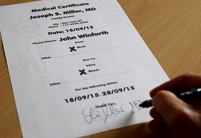 Certificado médico Valencia imagen portada